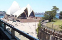 Balcony View - The Bennelong Apartments