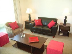 Lounge Room - Century Towers Apartments