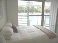 Bedroom - Finger Wharf Apartments